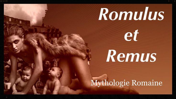 Romulus et Remus - Mythologie Romaine