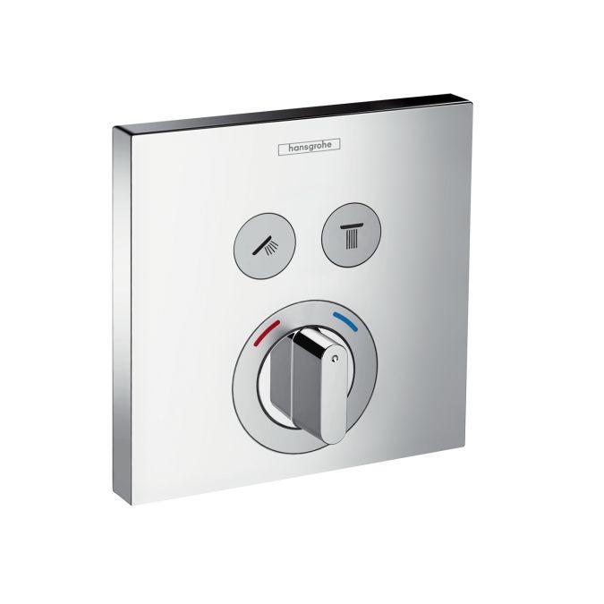 Hansgrohe ShowerSelect 2 fogyasztós csaptelep falsík alatti szereléshez 15768 000 (15768000)