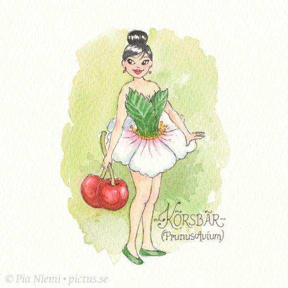 Pictus • Pia Niemi » Blomsterflickor