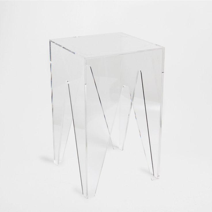 Methacrylate Stool Occasional Furniture Bedroom Zara