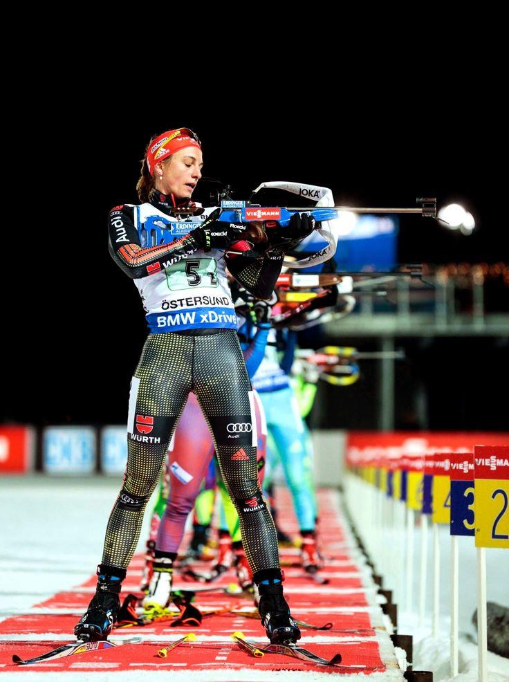 Vanessa Hinz — deutsche Biathletin