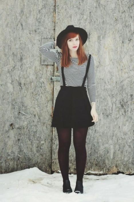 Seven Street Style Ways to Wear Suspenders