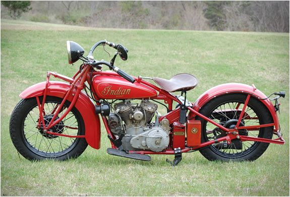 Buck's Indian Motorcycle is a family run business in West Virginia. Headed by Buck Rinker, the family restore beautiful vintage Indian motorcycles. Indian is an American brand of motorcycles, they were manufactured from 1901 to 1953, they are timeless works of art.