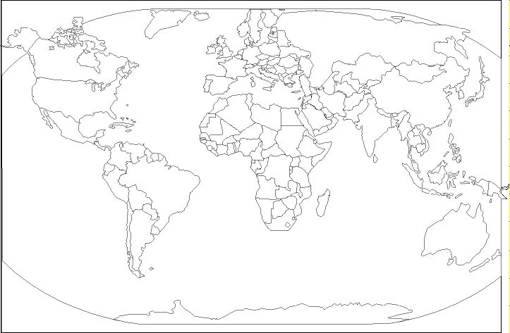 Click and Learn - Free Blank / Blackline Maps