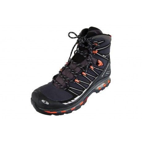 Salomon's Cosmic 4D 2 Boot features a Contagrip lugged sole and a 4D advanced chassis between the midsole and outsole for stable footing. For added comfort, there's a high, padded ankle collar and Sensifit secure fitting. The boot has been finished off with a waterproof GORE-TEX lining to keeping your feet dry and well ventilated.