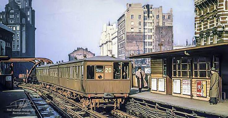 Liverpool overhead railway - with sig