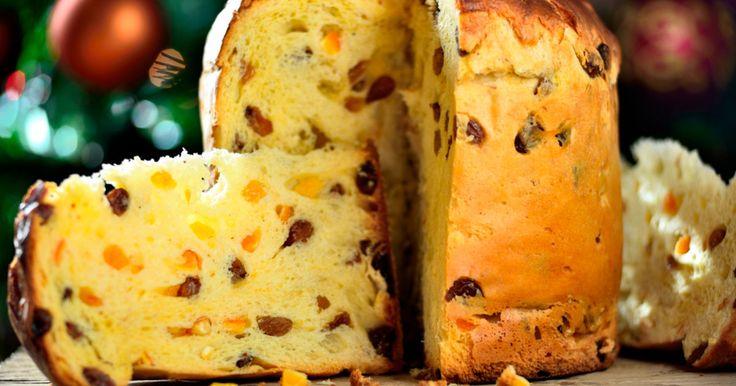 Ciasta - Panettone- włoska babka drożdżowa