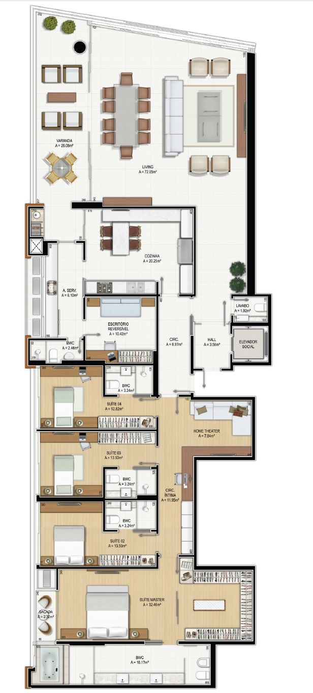1477 best images about architecture on pinterest 2nd for 100m2 floor plan