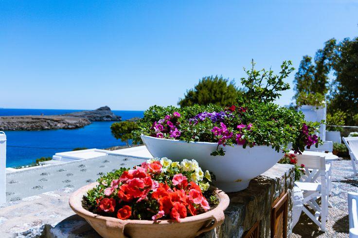 beautiful views at Melenos Lindos Exclusive Suites