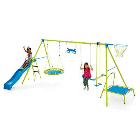 7 Station Swing Set | Kmart
