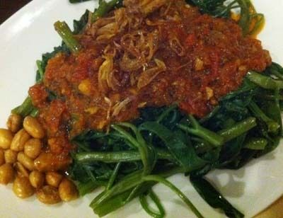 Resep Sayuran: Sambal Kangkung