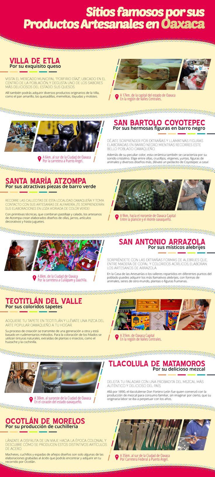 #Oaxaca y una exquisita variedad de #productosartesanales. ¡Elige el tuyo en tu paso por este bonito destino #mexicano! Más info sobre atractivos, aquí: http://www.bestday.com.mx/Oaxaca/Atracciones/