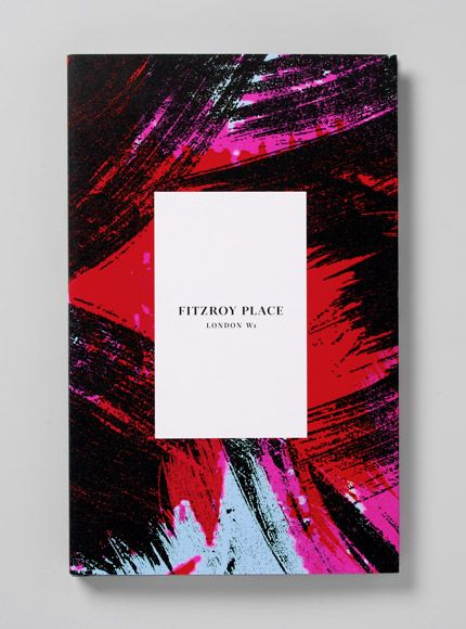 Fitzroy Place brochure / designed by Heavenly, printed by Gavin Martin Colournet
