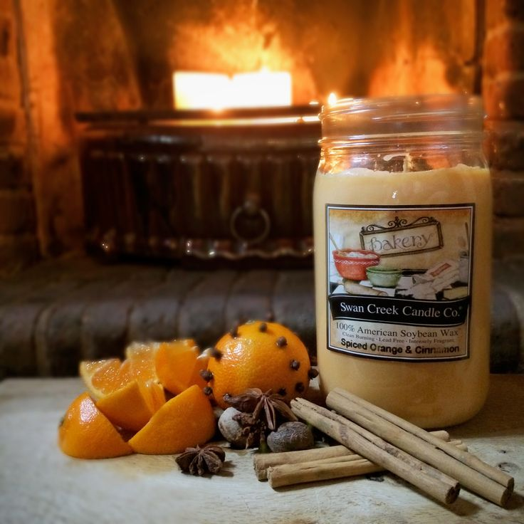 Spiced Orange and Cinnamon Swan Creek scented candle - £18.49 at https://oldstablestores.co.uk/shop/allcandles/swan-creek-spiced-orange-cinnamon/