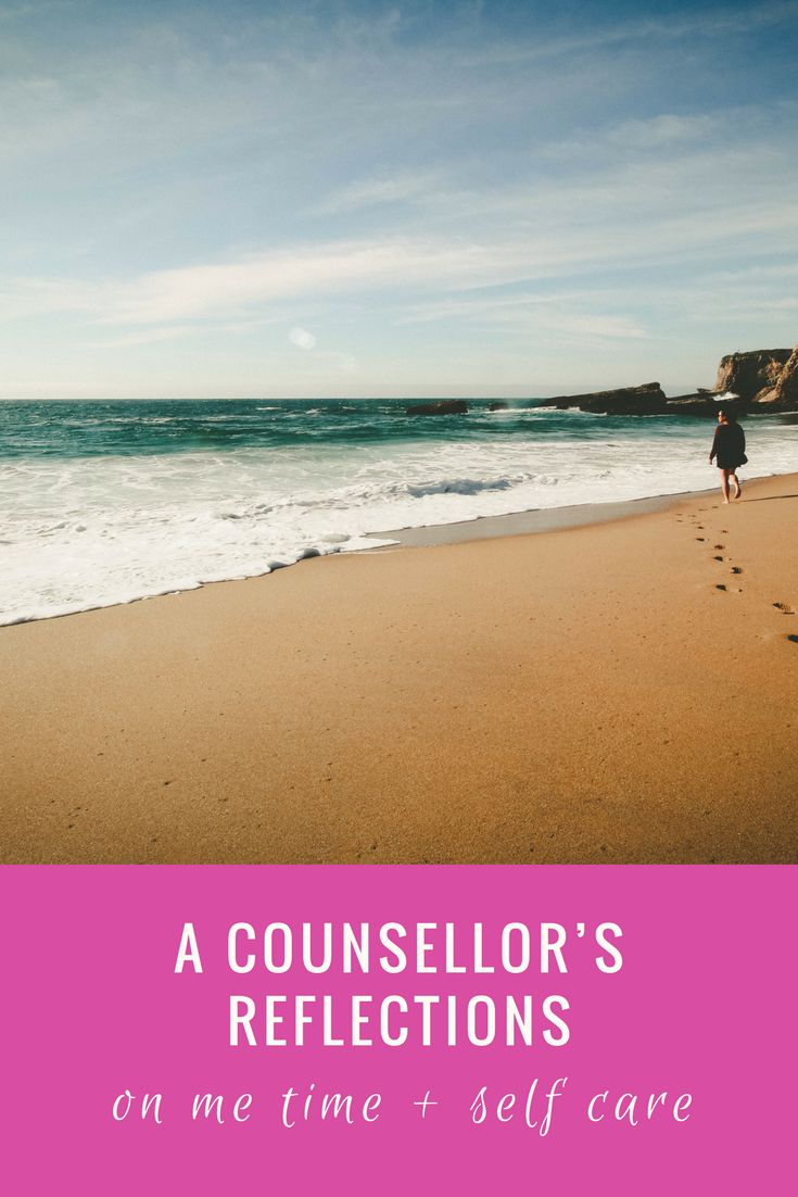 Counsellor Dr Geoff Arnold provides his thoughts on me time and self care.