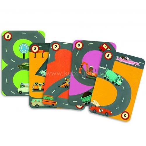 «Ралли» - интересная и несложная настольная игра на знание арифметики. Она поможет вашим детям повторить действия с числами и получить приятные призы. Призами в игре предстают милые жетоны - автомобили. Для того чтобы выиграть, ребенку нужно правильно и быстро считать, составлять примеры из карточек с числами.  Ход игры    Требуется пройти необходимое количество километров, которое выбрасывается на трех кубиках. Игрок сможет победить только в том случае, если он сумеет представить верный