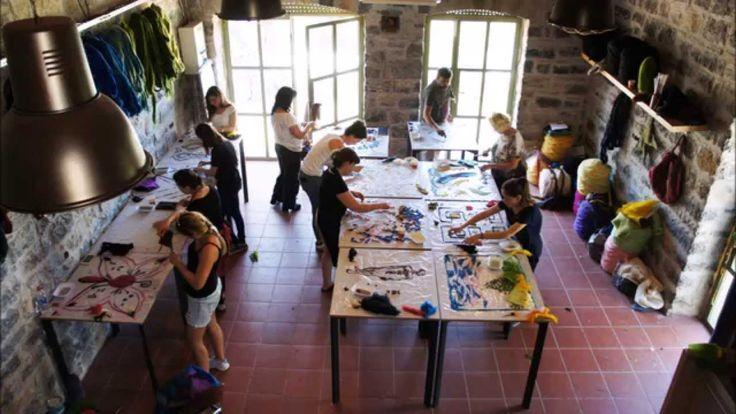 Bodrum Tasarım Köyü / Keçe İşler Atölyesi