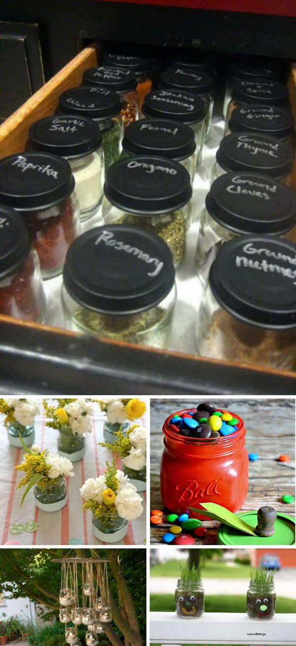 25 Creative Baby Food Jar Crafts For Home Decoration