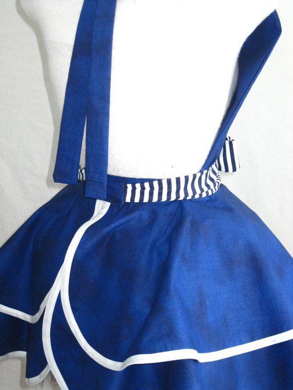 Sexy Navy Pin Up Girl Sailor Costume Apron by sjcnace4 on Etsy, $55.00