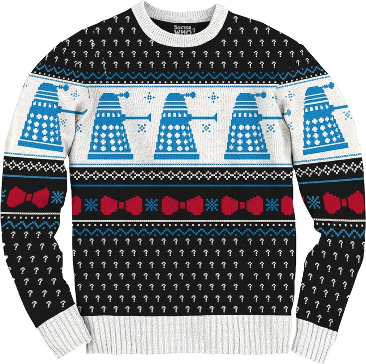 Doctor Who Dalek Ugly Christmas Sweater | The Best Ugly Christmas ...