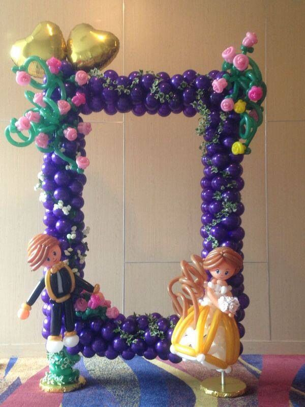 Best 25 balloon frame ideas on pinterest balloon ideas for Balloon arch frame kit party balloons decoration