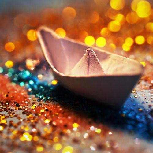 in a sea of glitter