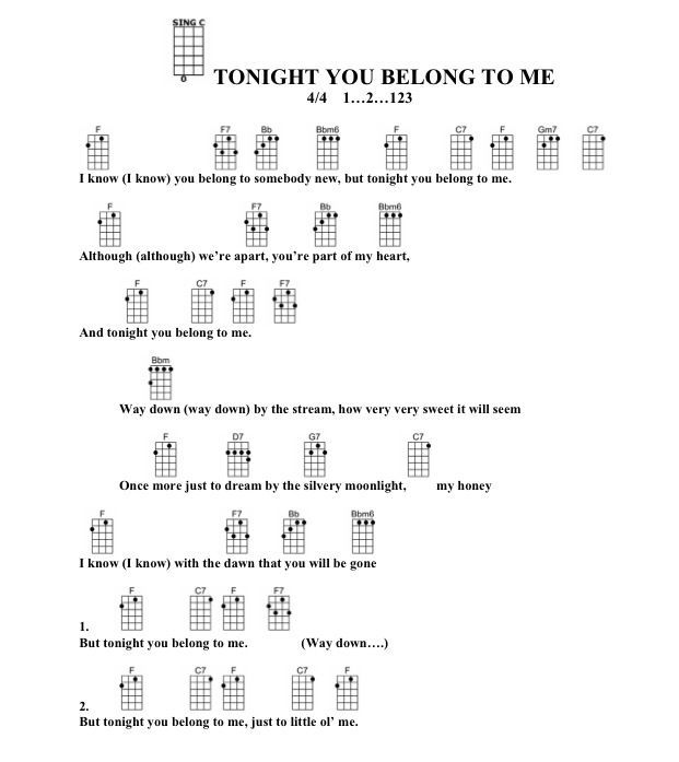 Tonight You Belong With Me Eddie Vedder Chords Idea Gallery