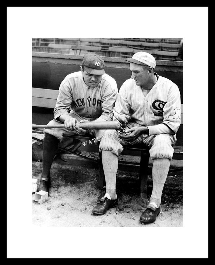 Babe Ruth Joe Jackson Photo 8X10 Yankees White Sox  | Sports Mem, Cards & Fan Shop, Vintage Sports Memorabilia, Photos | eBay!