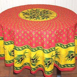 French Provencal Tablecloth