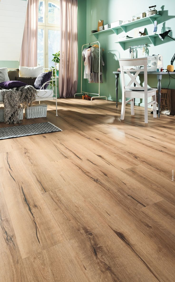 Haro korkboden corkett arteo xl eiche italica natur for Basement flooring options cork