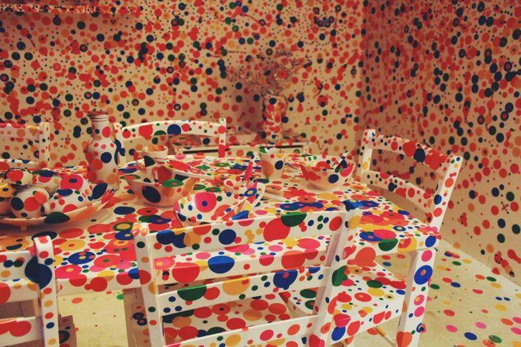 Day XIV   Endless Obsession by Yayoi Kusama at CA 660 - http://vsco.it/1O7mGrh  #vscocam #vsco #castzam #photography #Santiago #Chile #CA660 #art #Museum #Traveling #YayoiKusama #EndlessObsession