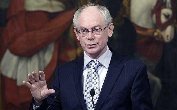 Van Rompuy tries to grab £2.5bn back from Britain's EU rebate.(November 15th 2012)