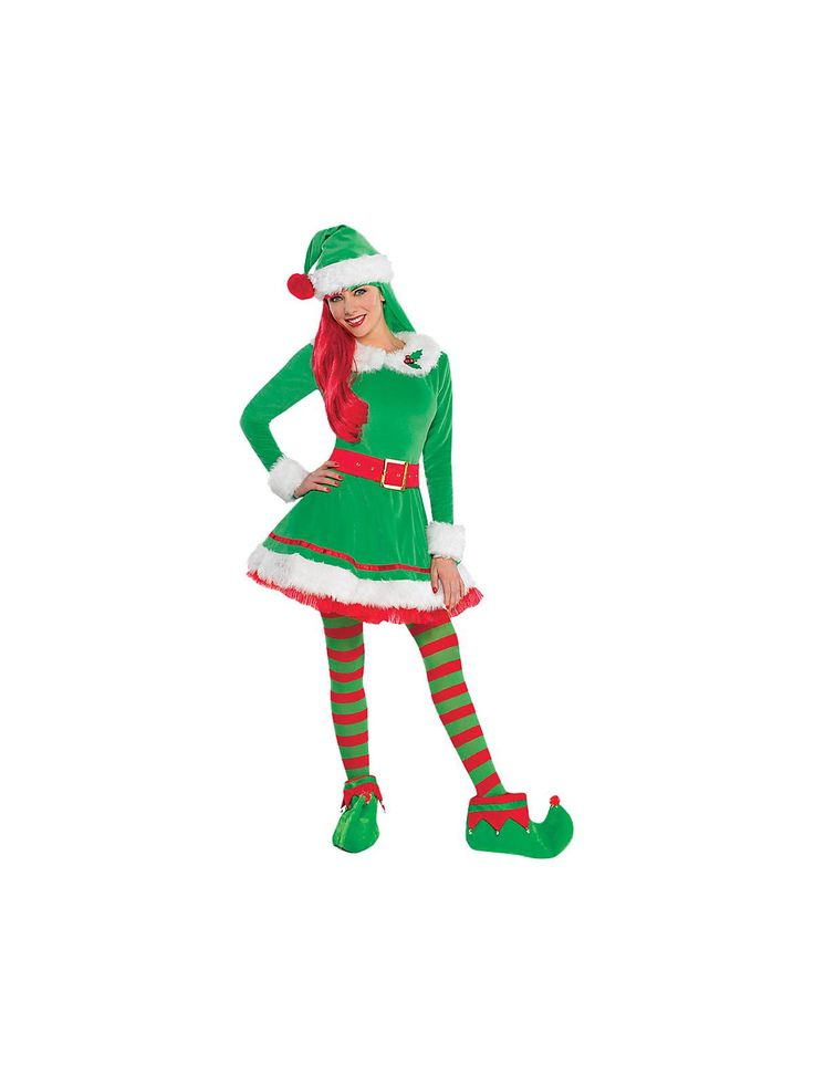 Reduced wholesale prices on Women's Elf Costume for Christmas with same day shipping on our 100% guaranteed website. Huge Selection!