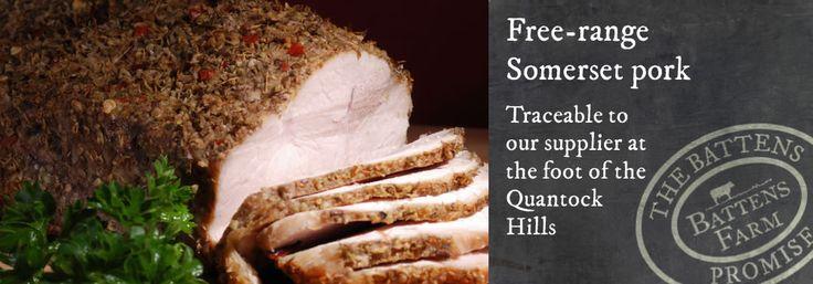 Free range Somerset pork meatbox - Large meat boxes - Free range meats to buy online.