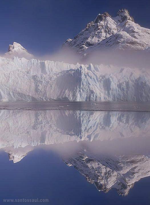 Glaciar Spegazzini, Argentina.