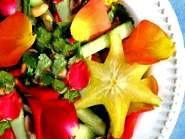 Sensuous Thai Rose Petal Salad