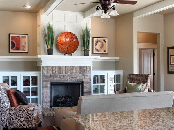 Stunning Fireplace Decorating Ideas Photos Contemporary House