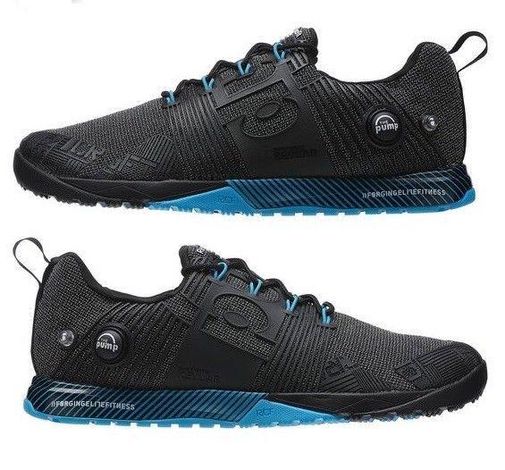 New Reebok Crossfit Nano Pump Fusion V67642 Mens Gym Workout Training Shoe Black Gym Workouts For Men Reebok Crossfit Nano Gym Men