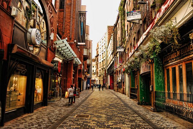 Mathew Street, Liverpool, England - http://www.stagandhenliverpool.co.uk/