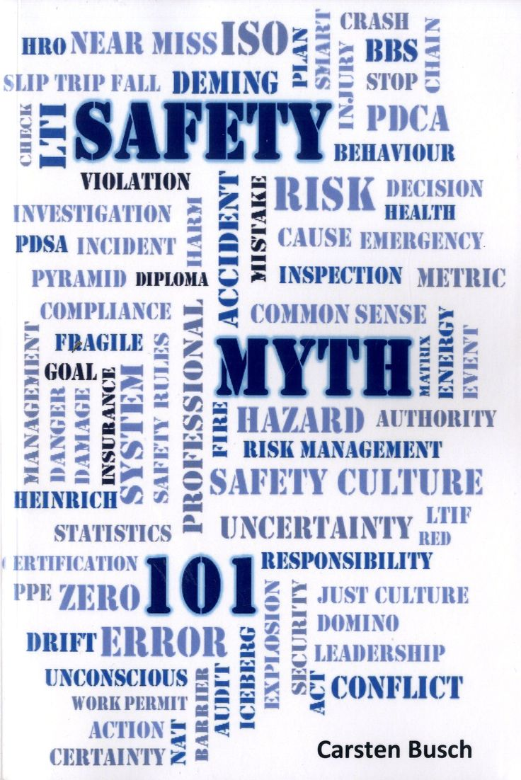 Safety Myth 101 : musings on myths, misunderstandings and more /Carsten Busch.-- [S.l.] : Mind the risk, 2016.