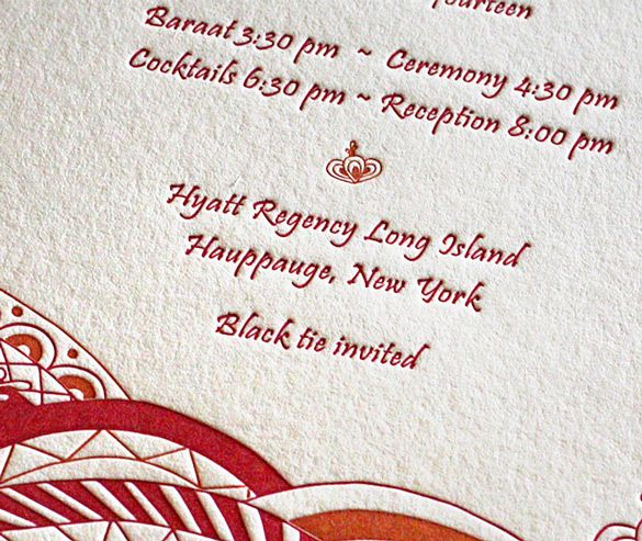 The 12 best wedding invitations images on pinterest bridal invitations mehndi party letterpress wedding invitation 2 best free home design idea inspiration stopboris Choice Image
