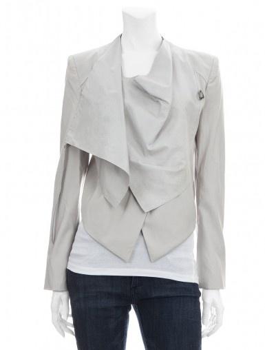 Linen Leather Jacker