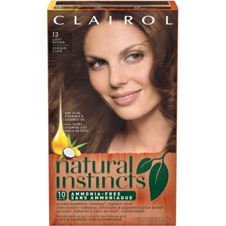 Clairol Natural Instincts Best Blonde Gray Coverage
