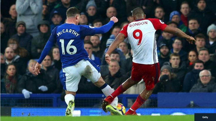 JAMES MCCARTHY SUFFERS HORRIFIC DOUBLE LEG BREAK IN ACCIDENT THAT LEAVES RONDON IN TEARS  The Everton midfielder suffered a serious injury after making an attempt to block a West Brom shot and Sam Allardyce confirmed the worst news  www.18onlinegame.com