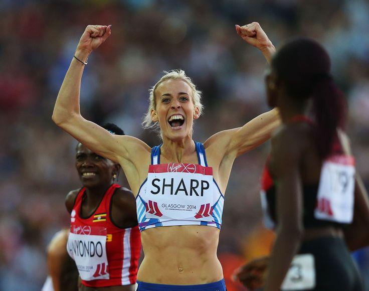 Lynsey Sharp of Scotland
