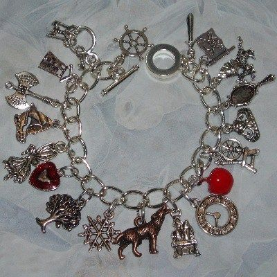 Wolf red heart and apple http www judesjewels co uk ourshop prod