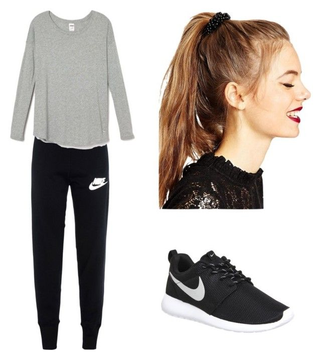 """""""Untitled #28"""" by malineiksa on Polyvore featuring NIKE and ASOS"""