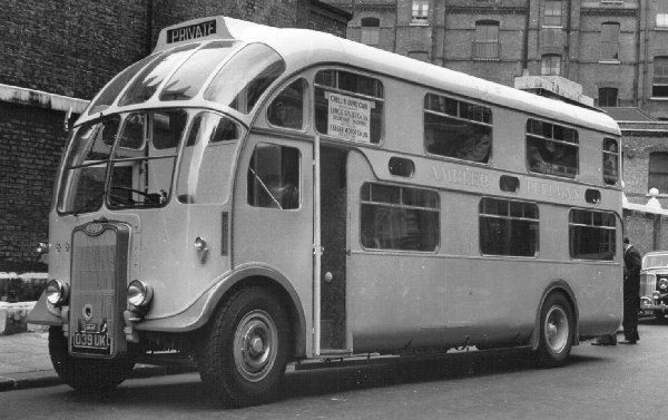 1950 Leyland Mann Egerton 039-UK - had to include this non-car on the board - very random and would love to own one! The front windows are fab! :-)