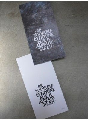Wise words. print by Ylva Skarp for nordicbliss.co.uk