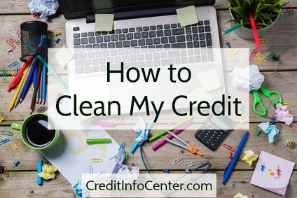 "For the sake of your credit score, it's time to stop thinking about ""credit repair"" as a dirty word. Unfortunately, this invaluable process has gotten a bad rap thanks to shady credit repair companies that take advantage of consumers. That's why if you find yourself asking ""How to clean my credit,"" DIY credit repair is your answer."